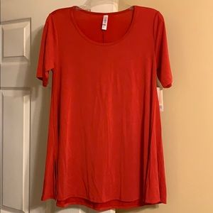 LuLaRoe Red Perfect T